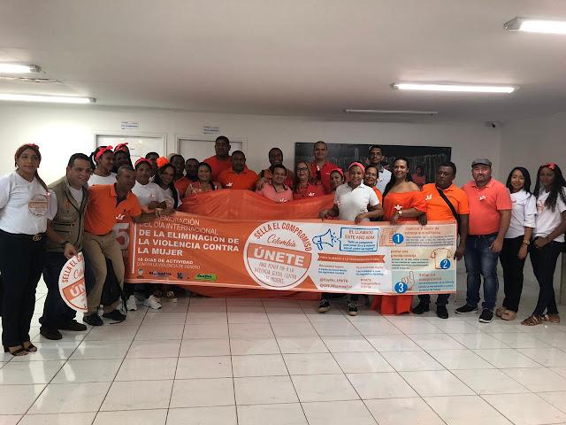 Alcaldía de Riohacha conmemoró Día Internacional de la Eliminación de la Violencia contra la Mujer