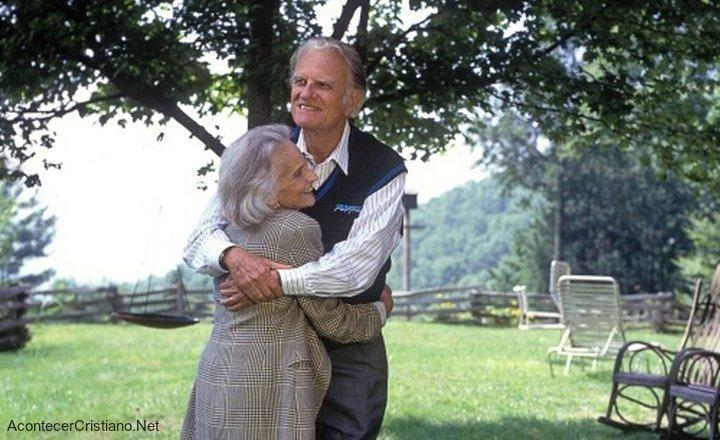 Billy Graham y su esposa, ejemplo de un buen matrimonio