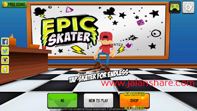 Free Download Epic Skater Mod Apk Terbaru Full VersionFor Android