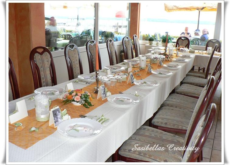 Tischdeko Zum 60.Geburtstag Mit Stampin Up