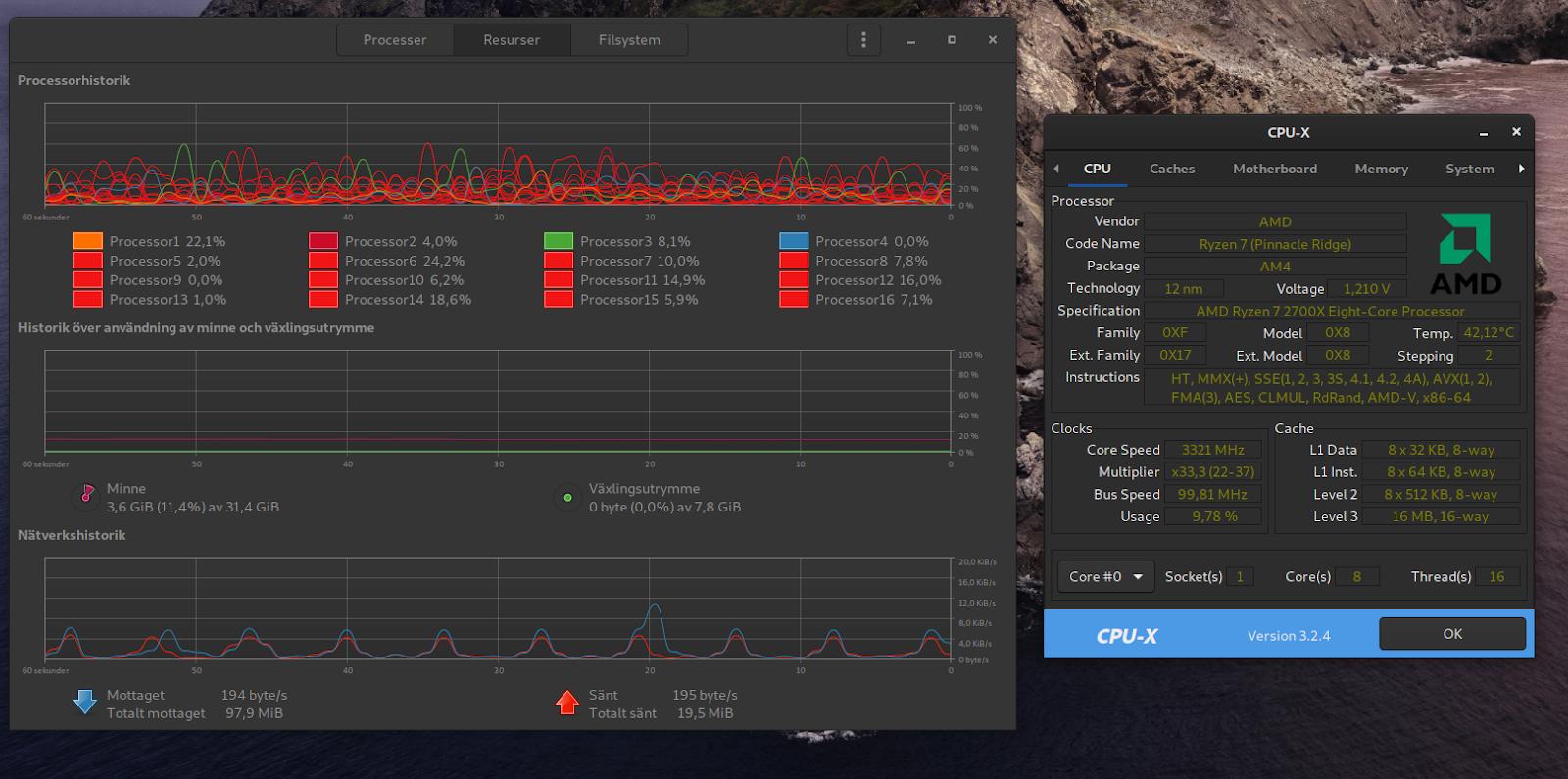 3700X rullar, 2700X fick nytt chassie för Linux tjänst - AMD