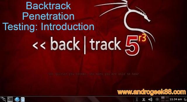 Backtrack Penetration Testing: Introduction
