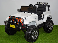 Mobil Mainan Aki Junior ME0905 Rubicon Jeep 12V