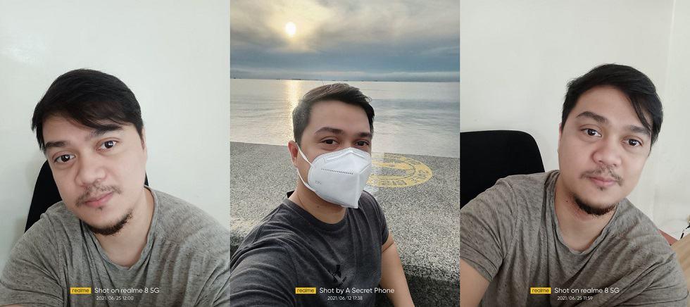 realme 8 5G Review: Sample Selfies