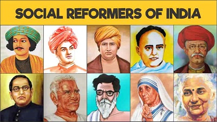 Social Reformers in India and their Contribution