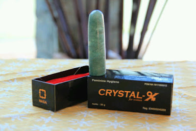 Manjakan Organ Kewanitaan Anda Demi Suami Dengan Crystal X Asli