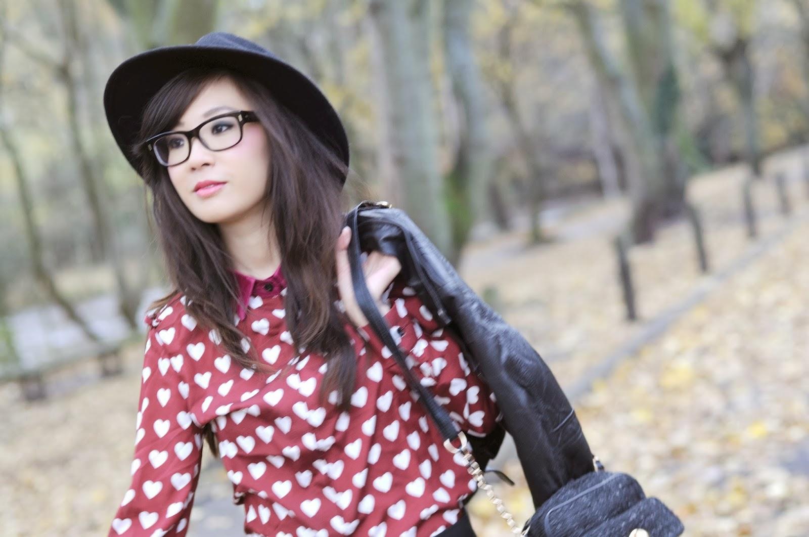Heart print shirt, fashion blogger uk, harry styles heart print shirt,