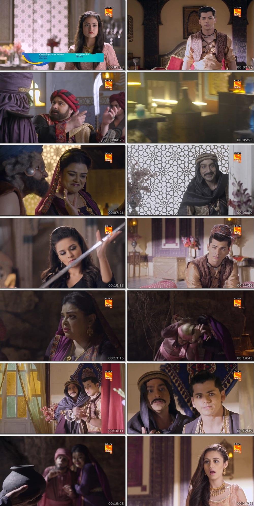 Screenshots Of Hindi Show Aladdin – Naam Toh Suna Hoga 2019 Episode 282 300MB 720P HD