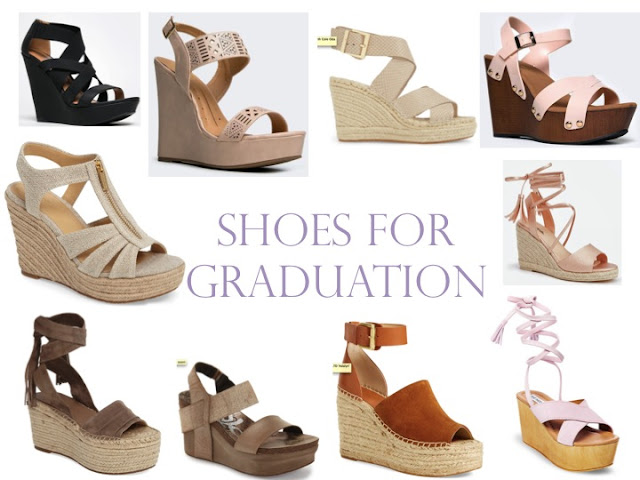 10 shoe options for graduation