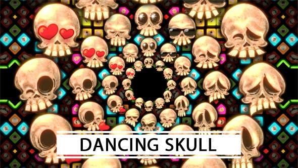 Videohive Dancing Skull 21313930
