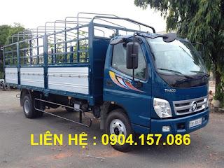 Xe tải thaco ollin 5 tấn Hải Phòng