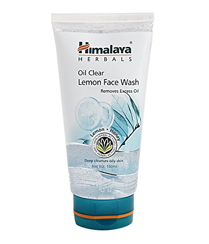 Top 10 Paraben-Free Face Wash in India for Oily, Sensitive, and Acne-Prone Skin  -Himalaya Oil Clear Lemon Face Wash