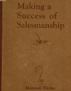 Making a success of salesmanship