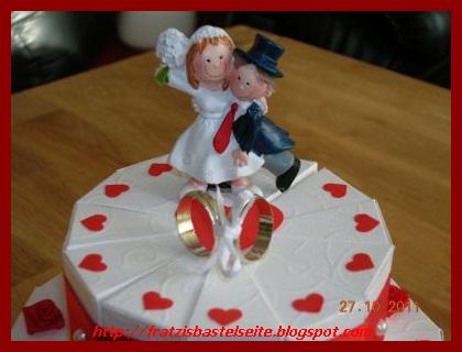 Hochzeitstorte papier