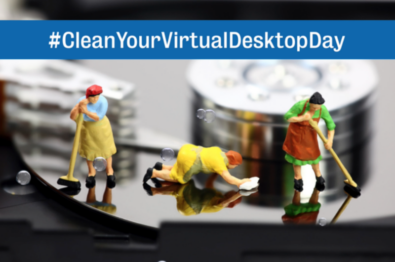 National Clean Your Virtual Desktop Wishes Unique Image