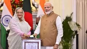 India and Bangladesh sign 5 pact to Boost