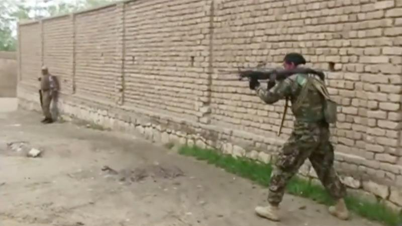 The attack came a day after the Taliban attacked Kunduz