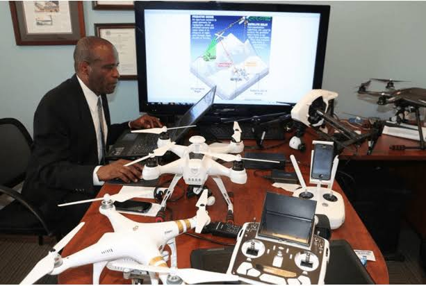Meet the U.S Drone Builder Who is A Nigerian with 6 Masters Degree and 3 PhD