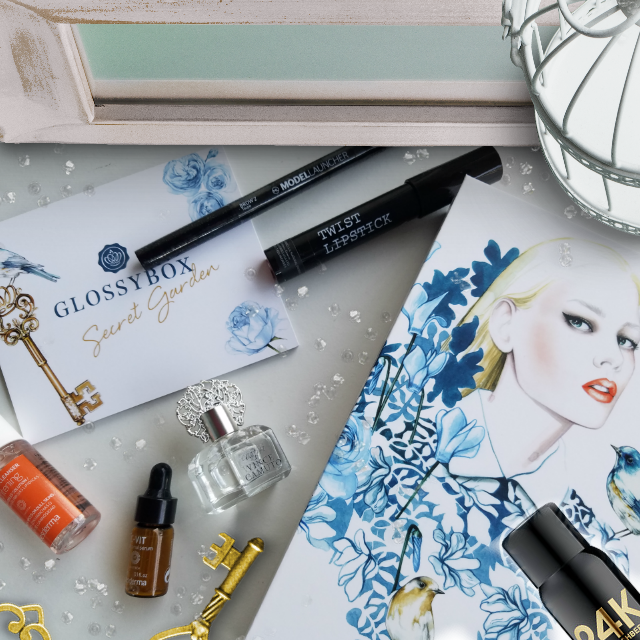 September's GLOSSYBOX, The Secret Garden Of Beauty by Barbie's Beauty Bits