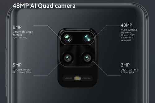 Redmi Note 9S كاميرات