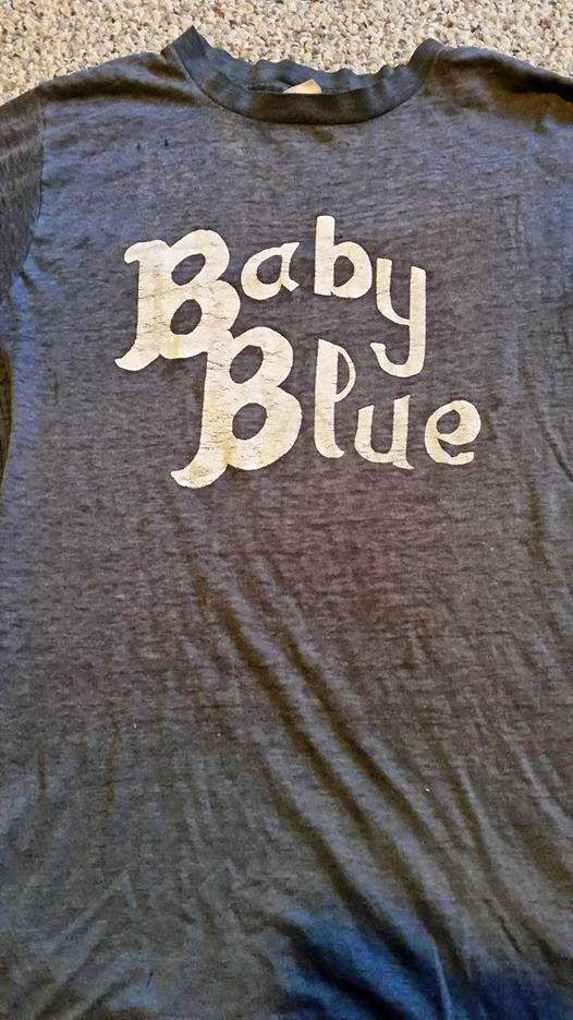Baby Blue t-shirt from back in the day!!