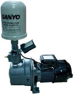 Daftar Harga Mesin Pompa Air Merk Sanyo Terbaru
