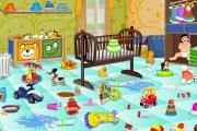العاب تنظيف غرفة الطفل