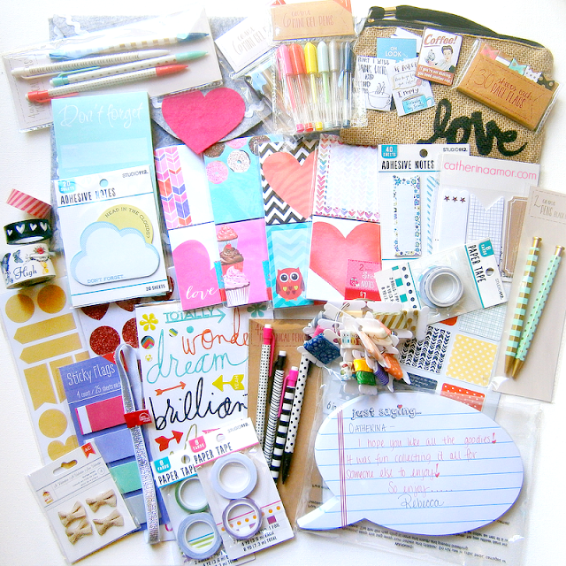 Stationary Planner Supplies