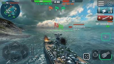 لعبة Warships Universe مهكرة جاهزة للاندرويد, لعبة Warships Universe مهكرة بروابط مباشرة
