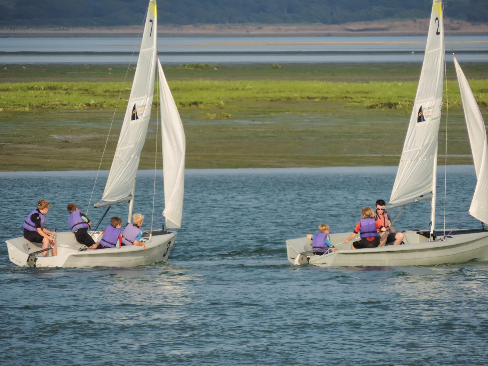portsmouth watersports centre sailing lessons in langstone harbour