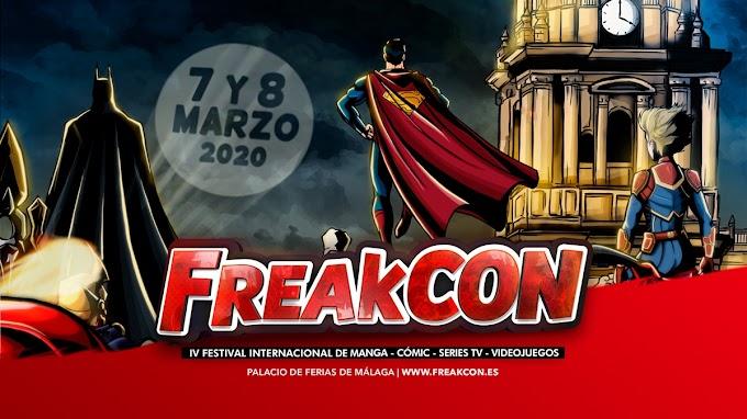 Nueva edición de FreakCon los días 7 y 8 de Marzo