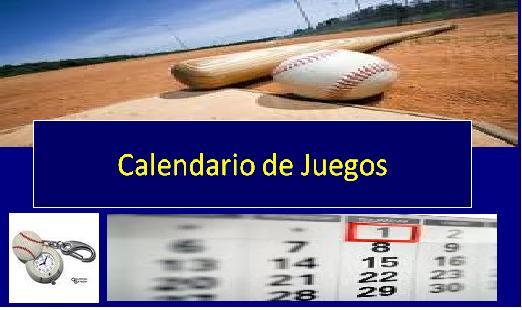 Calendario Supermaster.Beisbol Y Softbol Miranda Calendarios Beisbol Senior