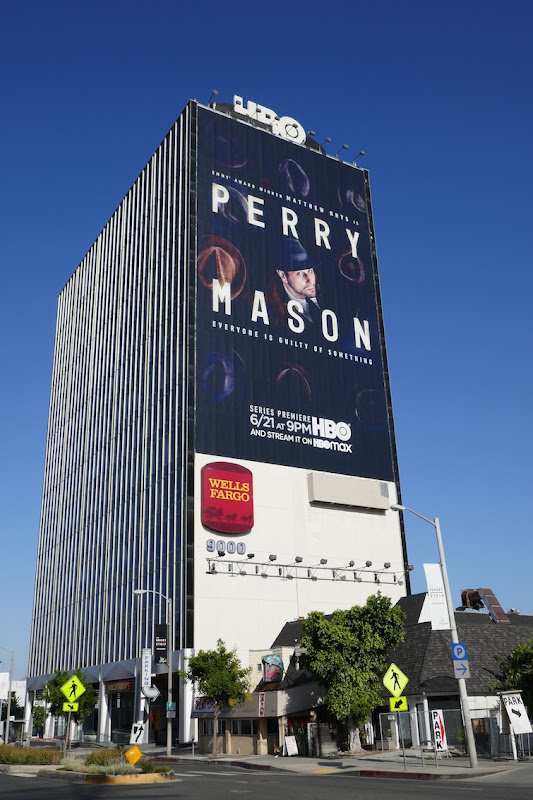 Giant Perry Mason HBO billboard