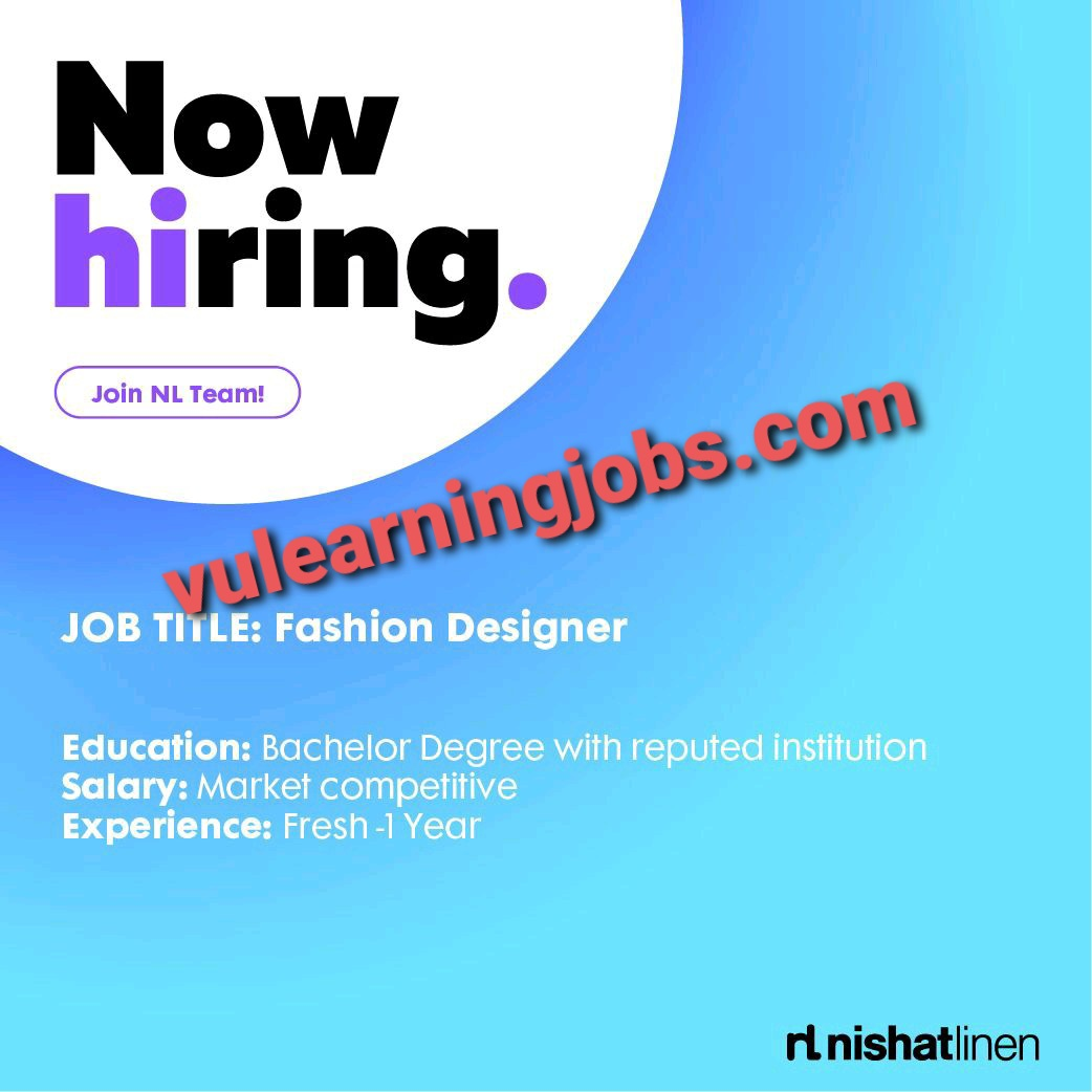 Nishat Linen Jobs In Pakistan May 2021 Latest   Apply Now