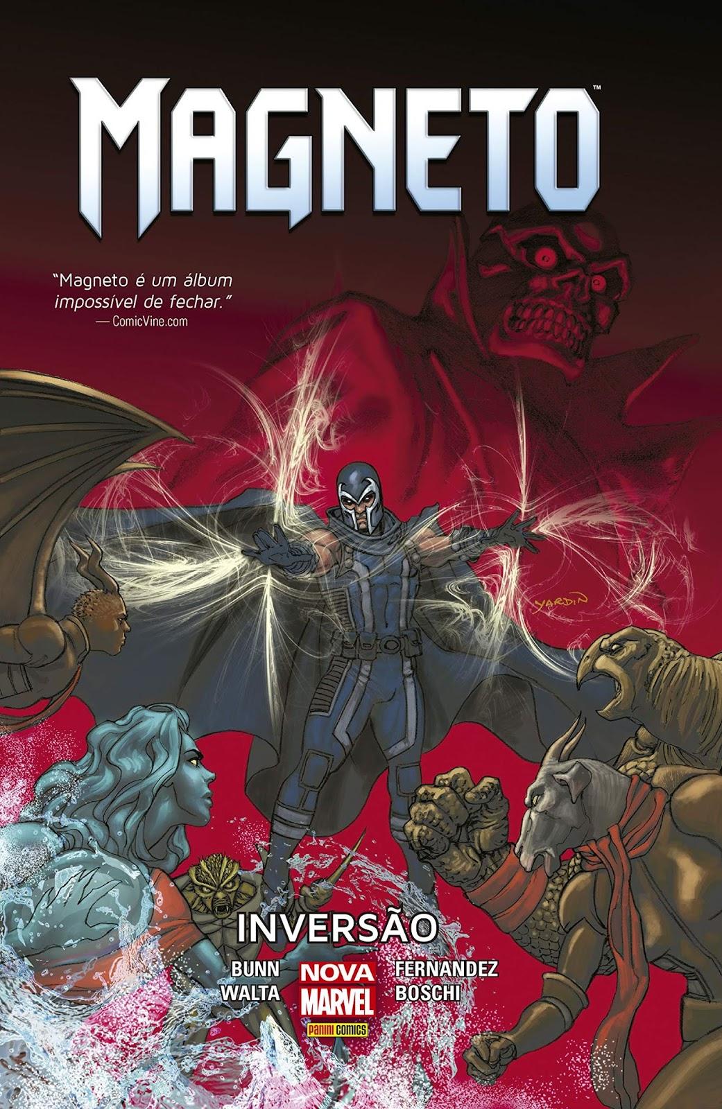 Capa de Magneto #2 - Inversão por David Yardin.