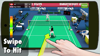 Badminton 3D Apk Game for Android