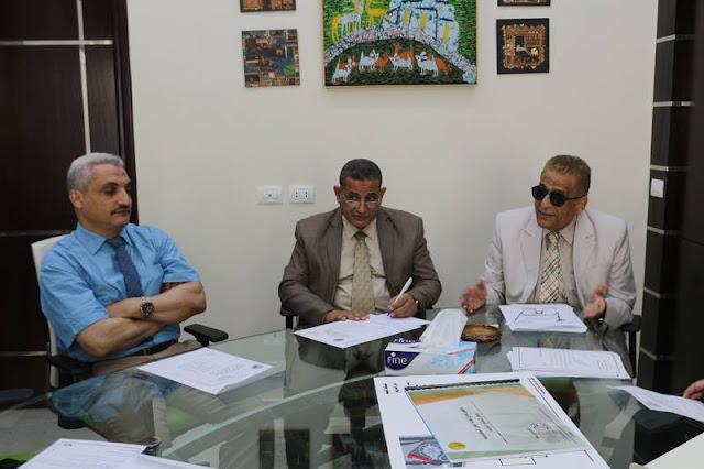 نقيب المعلمين العرب خلف الزناتي