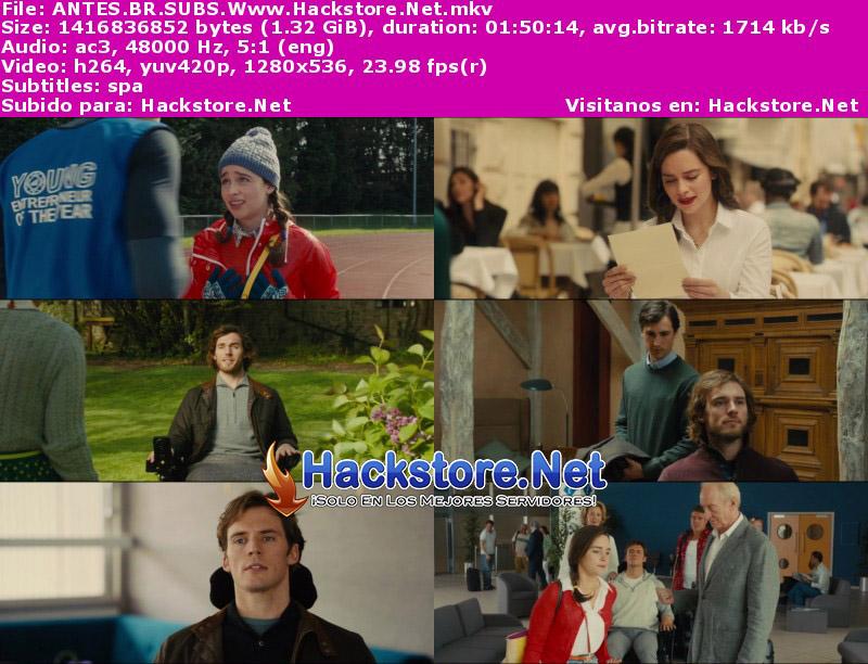Capturas de Yo antes de ti (2016) Blu-Ray RIP HD Subtitulada