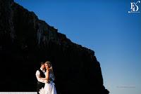 trash the dress em torres no litoral gaucho na praia da guarita ensaio pré-wedding com cerimonial de fernanda dutra eventos cerimonialista em torres