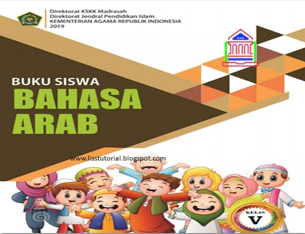 Download Buku Bahasa Arab Kelas 5 MI Kurikulum 2013 Edisi Revisi 2019