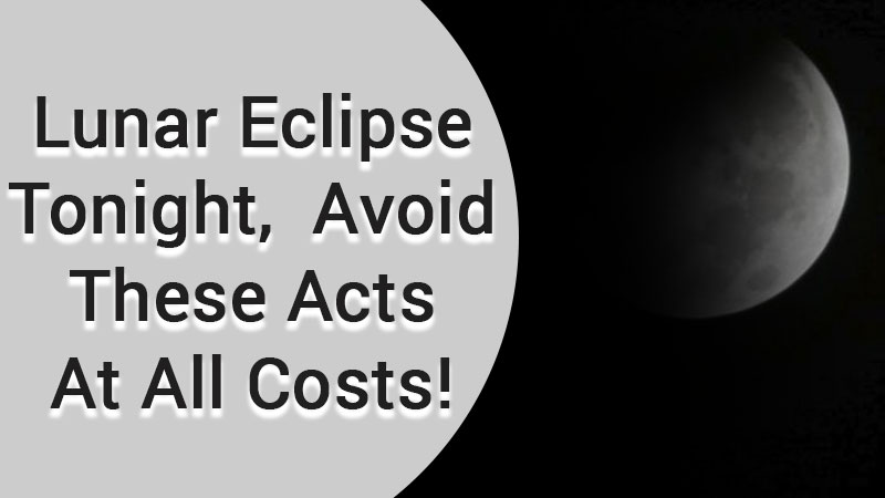 AstroSage Magazine: Partial Lunar Eclipse Tonight, Read