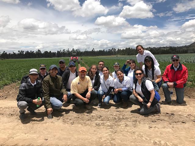 """PepsiCo Ecuador organizó """"Un Día en la vida de Agro"""" para sus colaboradores"""