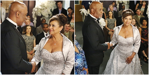 casamento Grey's Anatomy richard