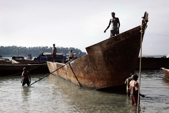Fotos de la exótica vida en la India.
