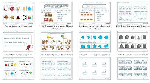 ▷ Las mejores fichas de matemática 2018 para descargar gratis