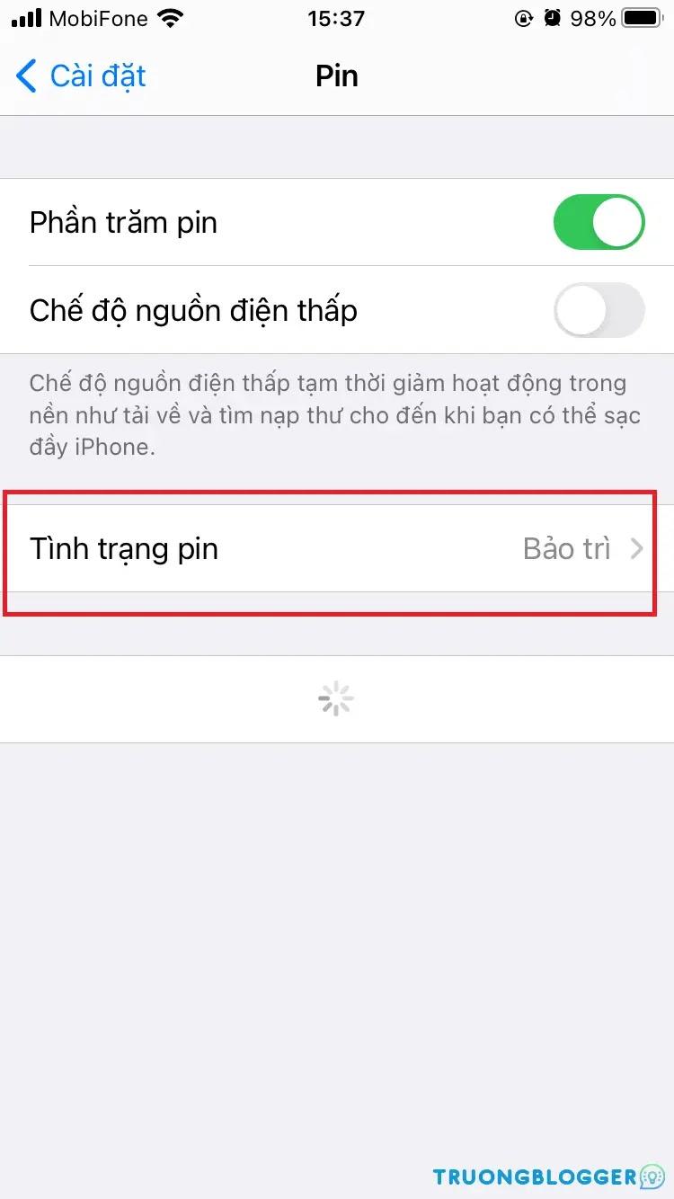 Cách kiểm tra pin iPhone, test pin iPhone cũ nhanh, chính xác