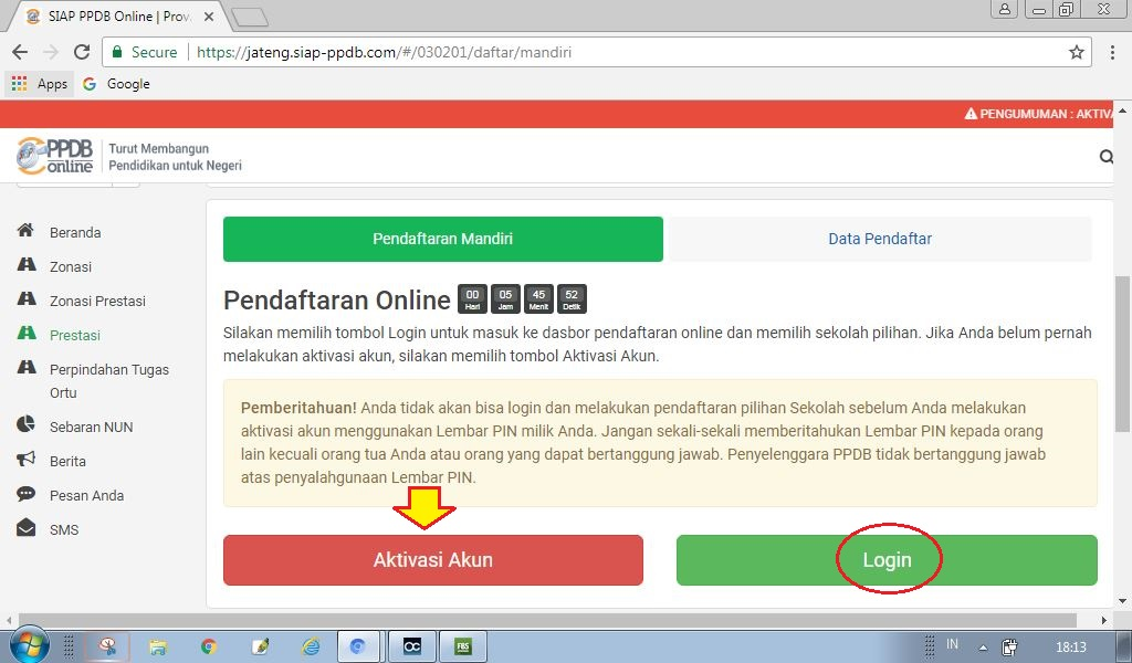 Cara Daftar PPDB Online SMA Solo ~ Solo Online
