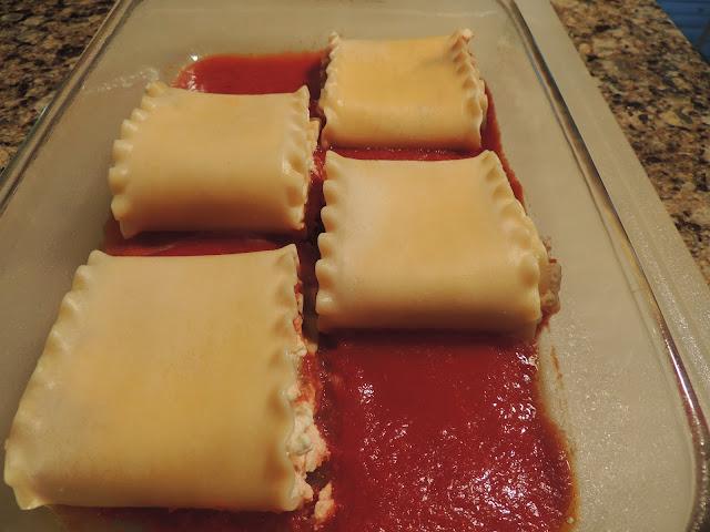 Freezing Lasagna