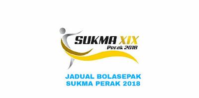 Jadual Bolasepak SUKMA Perak 2018