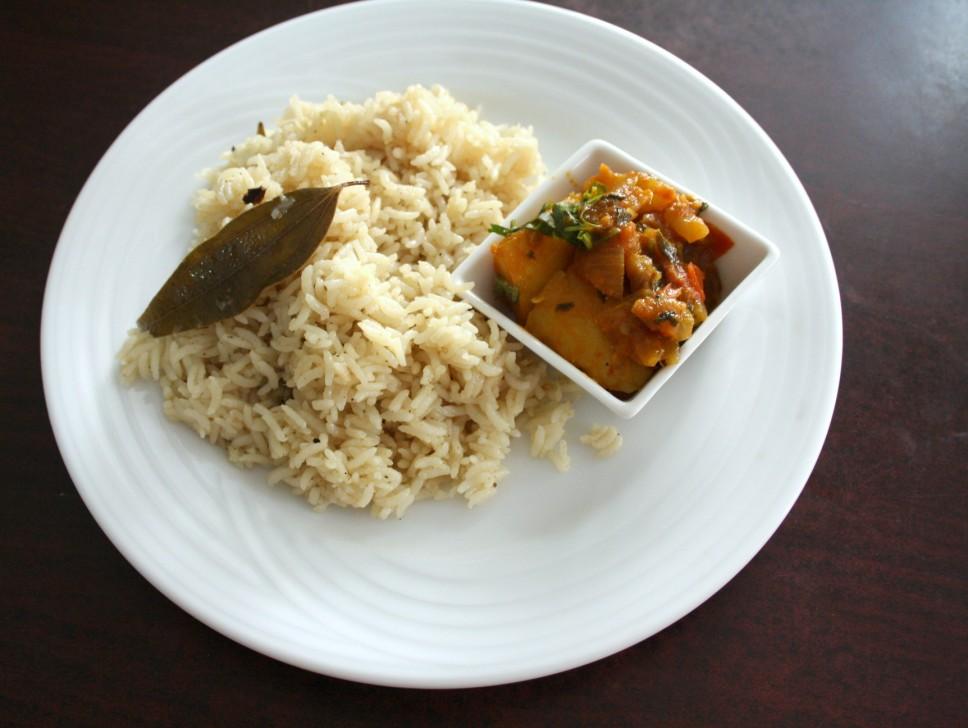 prepare jeera rice in home